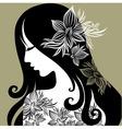 woman portrait vector image vector image