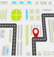 abstract navigation concept vector image vector image