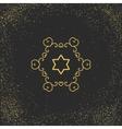 Asian mandala symbol vector image vector image