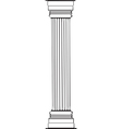Greek Column vector image