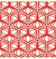 minimalistic geometric seamless pattern vector image vector image