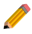 pencil object icon vector image