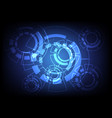 abstract background technology concept vector image