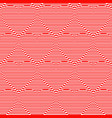 abstract seamless pattern of lines in the shape vector image vector image
