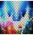 Colorful geometric background abstract triangle vector image vector image