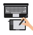 graphic designer vector image vector image