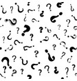 question mark seamless pattern vector image vector image
