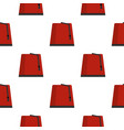 red turkish fez pattern seamless vector image vector image