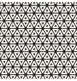 Seamless Black And White Rounded Triangle vector image vector image
