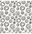 Spiral hand drawing simple seamless pattern