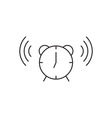 Time clock icon outline vector image