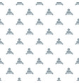 web friends pattern seamless vector image vector image