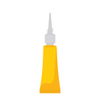 Yellow super glue vector image