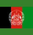 closeup flag afghanistan vector image vector image
