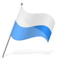 flag San Marino vector image
