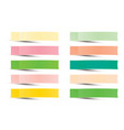 Post note sticker paper sticky tape with shadow