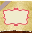 Retro flower background And also includes EPS 8 vector image vector image