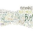 the demise of buy hold text background word cloud vector image vector image