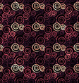 vintage red spiral seamless vector image vector image