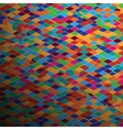 abstract square pixel mosaic background eps 8 vector image vector image