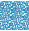 City Pattern vector image vector image