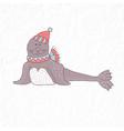funny seal nursery art minimalist scandinavian vector image vector image