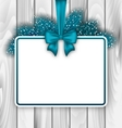 Merry Christmas Elegant Card vector image vector image