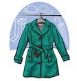 Raincoat vector image