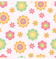 Seamless flower texture for babies ideal for