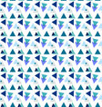 Seamless geometric patterntriangle pattern vector image