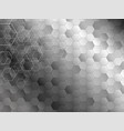 abstract background design of hexagon vector image
