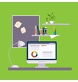 Home Freelance Office vector image vector image