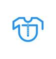 letter t t shirt logo designs inspiration vector image