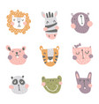 nursery animals vector image vector image