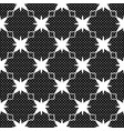 seamless pattern with polka dots black and white vector image vector image