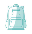 backback icon design vector image