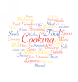 Cooking food industry vector image