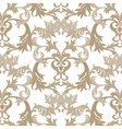 Damask pattern ornament vector image vector image