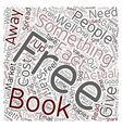 Free Stuff Solid Profits text background wordcloud vector image vector image
