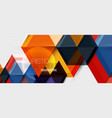 hexagon abstract background geometrical modern vector image vector image
