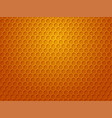 honeycomb background texture and pattern vector image