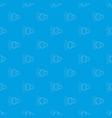 loud volume up pattern seamless blue vector image