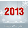 New Year Greetings 2013 vector image vector image