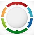presentation or infographics element vector image
