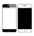 Realistic modern smartphone vector image