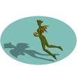 Chinese horoscope dragon-women vector image vector image