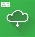 cloud icon business concept internet download vector image