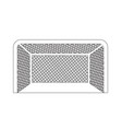 hockey gate icon design vector image
