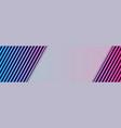 neon laser stripes abstract tech banner design vector image