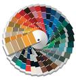Color palette guide vector image